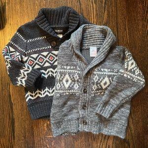 2T thick, cozy sweater bundle